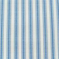 Pippin Stripe Fabric - Dark Blue