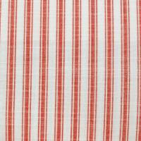 Pippin Stripe Fabric - Red