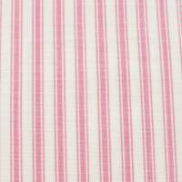 Pippin Stripe Fabric - Dark Pink
