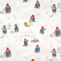 London Paddington Fabric - Red/Blue