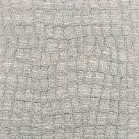 Crocodillas Fabric - Silver