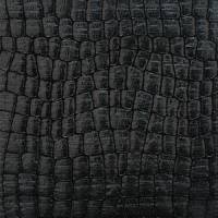 Crocodillas Fabric - Black