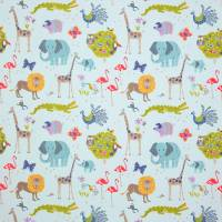 Wild Things Fabric - Blue