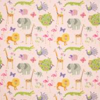 Wild Things Fabric - Pink
