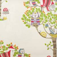 Into the Woods Fabric - Cream