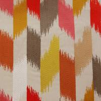 Rossini Fabric - Red/Gold