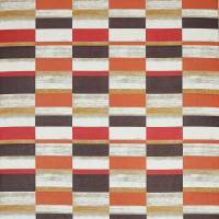 Kauri Fabric - Copper/Red
