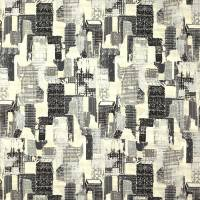 Cityscape Fabric - Charcoal