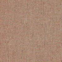 Romey Fabric - Natural/Coral