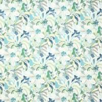 Hot House Fabric - Teal/Blue