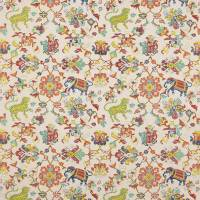 Animal Tapestry Fabric - Multi