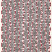 Zhiri Fabric - Red/Neutral