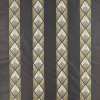 Astoria Fabric - Black / Gold