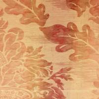 Seymour Damask Fabric - Red