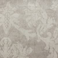 Seymour Damask Fabric - Silver