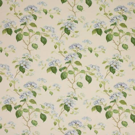 Curtains In Summerby Fabric Blue F3829 03 Colefax