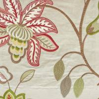 Augusta Fabric - Red/Green