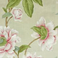 Giselle Fabric - Pink/Green