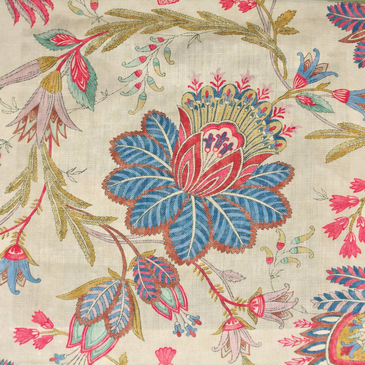 casimir fabric red blue f4235 04 colefax fowler casimir fabrics collection. Black Bedroom Furniture Sets. Home Design Ideas