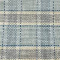 Malin Check Fabric - Old Blue