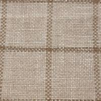 Larne Check Fabric - Taupe