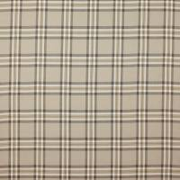 Malone Check Fabric - Brown/Sienna