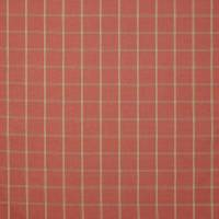 Hendry Check Fabric - Red