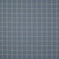 Hendry Check Fabric - Blue