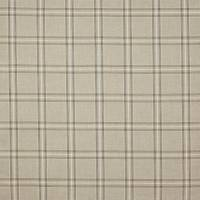 Edgar Check Fabric - Stone