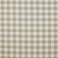 Hurst Check Fabric - Stone