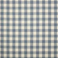 Hurst Check Fabric - Blue