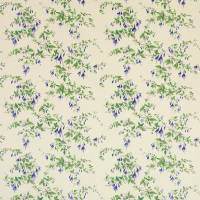 Fuchsia Fabric - Blue Chintz