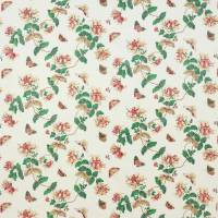 Honeysuckle Fabric - Red
