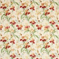 Beaufort Fabric - Pink/Green