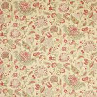 Colmar Fabric - Red/Green