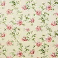 Amelie Fabric - Pink/Green