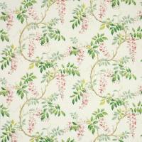 Alderney Fabric - Pink/Green
