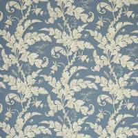 Acanthus Fabric - Blue