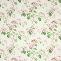 Summerby Cotton Fabric - Pink/Green