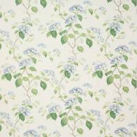 Summerby Cotton Fabric - Blue/Green