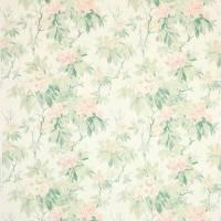Mereworth Fabric - Pink/Green