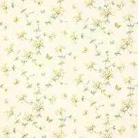 Honeysuckle Garden Fabric - Yellow