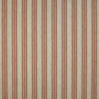 Kennet Stripe Fabric - Red/Green