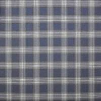 Lowick Plaid Fabric - Blue