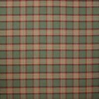 Lowick Plaid Fabric - Red / Sage