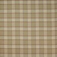 Lowick Plaid Fabric - Sand