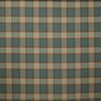 Lowick Plaid Fabric - Teal