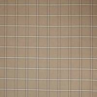 Fen Plaid Fabric - Beige