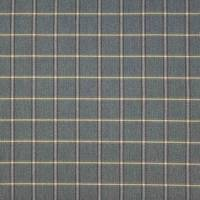 Fen Plaid Fabric - Blue