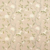 Snow Tree Fabric - Old Pink